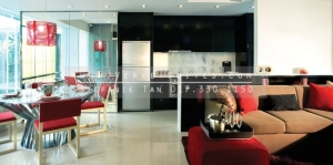 urban-glam-kitchen-dining-living-area